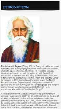 Rabindranath Tagore Biography ENGLISH screenshot 1