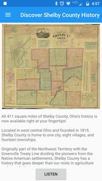Discover Shelby County History poster