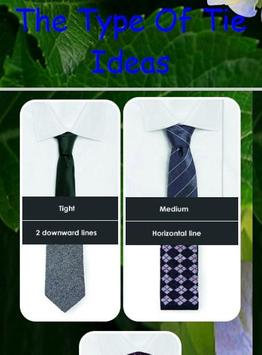 The Type Of Tie Ideas poster