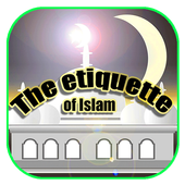 The etiquette of Islam icon