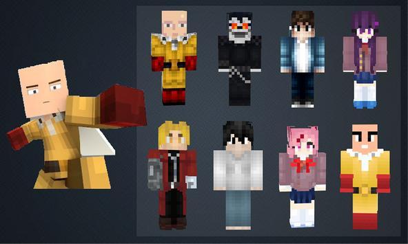 Скины Аниме для Майнкрафт screenshot 7