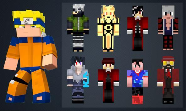 Скины Аниме для Майнкрафт screenshot 5
