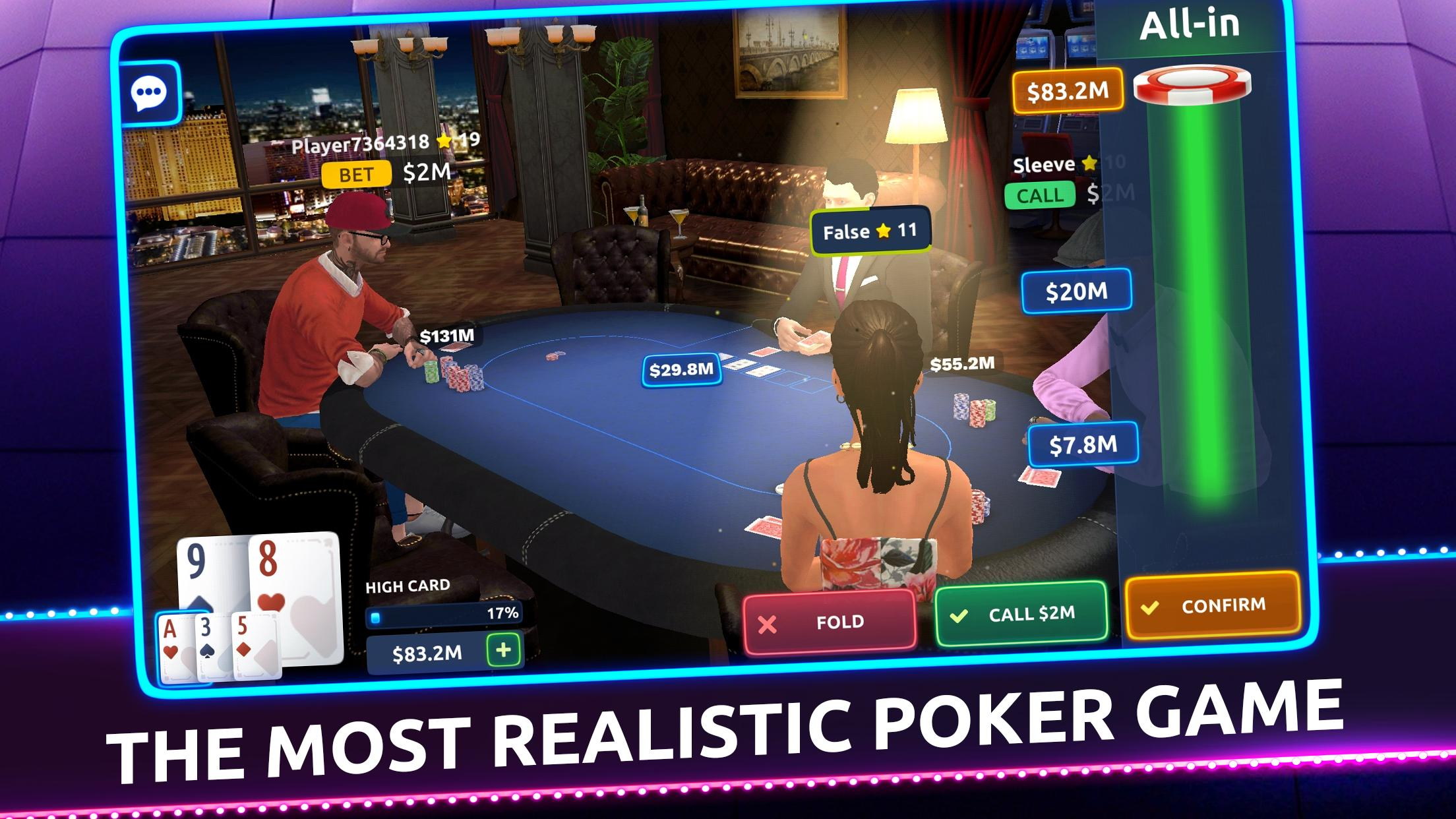 Poker 3d Texas Holdem For Android Apk Download
