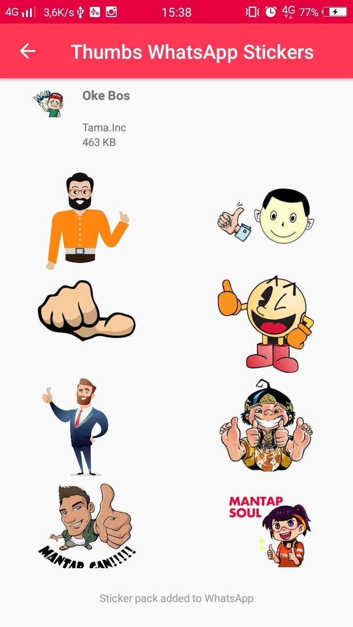 wastickers jempol thumb stickers for whatsapp for android apk download wastickers jempol thumb stickers for
