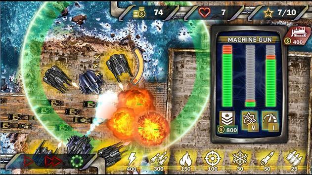 Protect & Defense: Tank Attack 截图 1