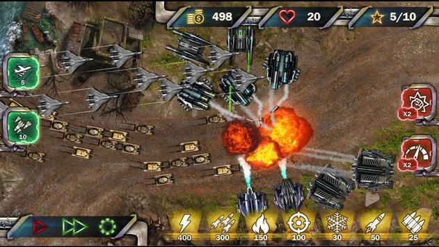 Protect & Defense: Tank Attack 截图 4