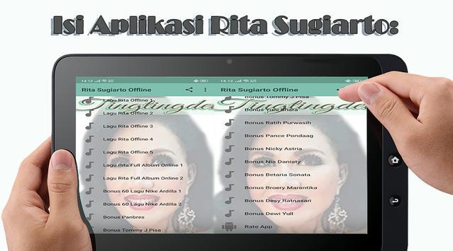 100+ Lagu Rita Sugiarto Offline poster