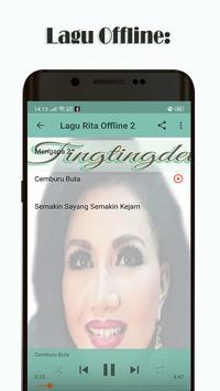 100+ Lagu Rita Sugiarto Offline screenshot 3