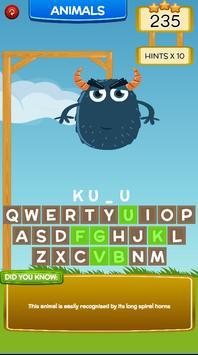 Hang Man Word Game screenshot 13