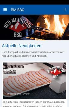 Redmountain BBQ poster