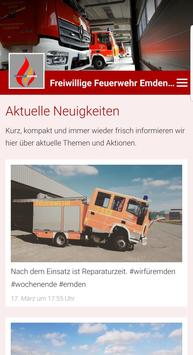 Freiwillige Feuerwehr Emden Stadtmitte poster