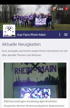 Aue Fans poster