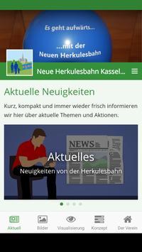 Neue Herkulesbahn Kassel poster