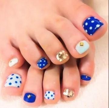Toe nail design screenshot 1