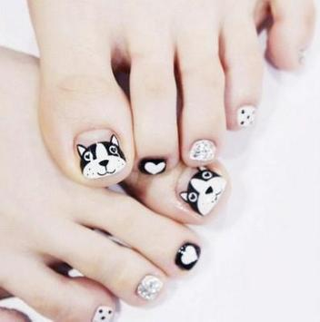 Toe nail design screenshot 4