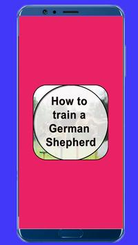 How to Train a German Shepherd poster