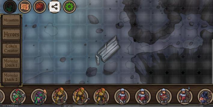 Tabletop RPG Grid Maps capture d'écran 3