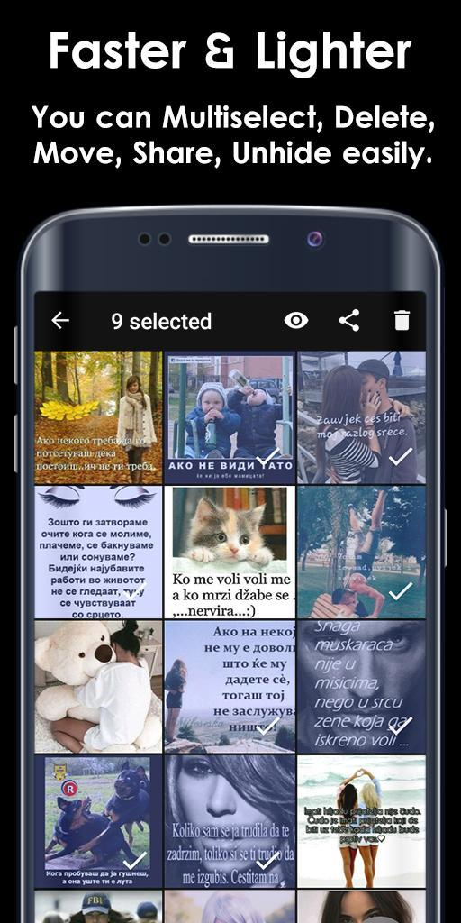 Photo Video Lock App Black Edition for Android - APK Download