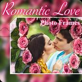 Beautiful Romantic Love Photo Frames cards icon