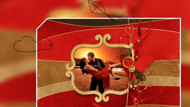 Beautiful Romantic Love Photo Frames cards screenshot 3