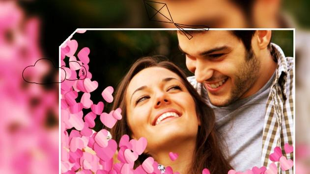Beautiful Romantic Love Photo Frames cards screenshot 1