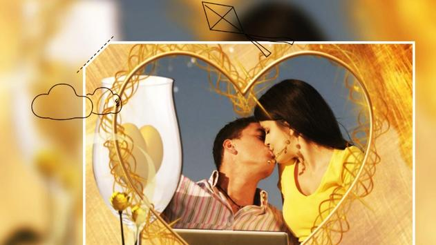 Beautiful Romantic Love Photo Frames cards screenshot 4