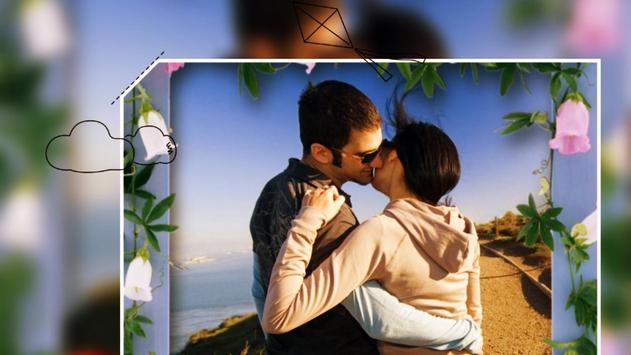 Beautiful Romantic Love Photo Frames cards screenshot 6