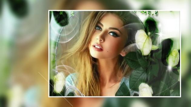 Beautiful Rose Flower Photo Frames Greeting Cards screenshot 2