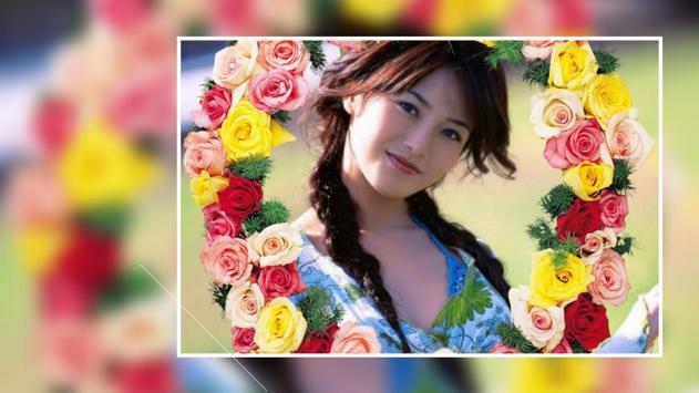 Beautiful Rose Flower Photo Frames Greeting Cards screenshot 6