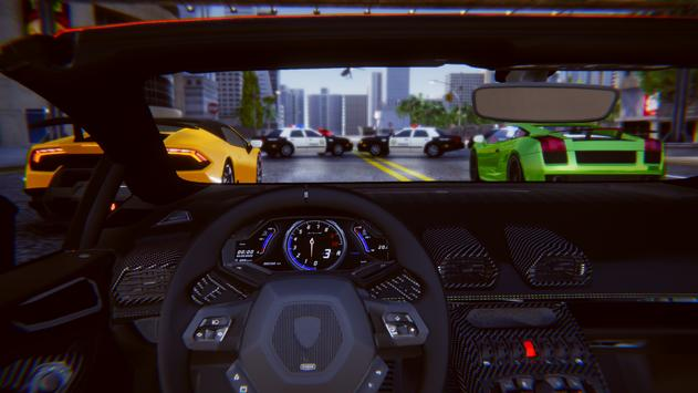 Lamborghini Car Racing Simulator City screenshot 4