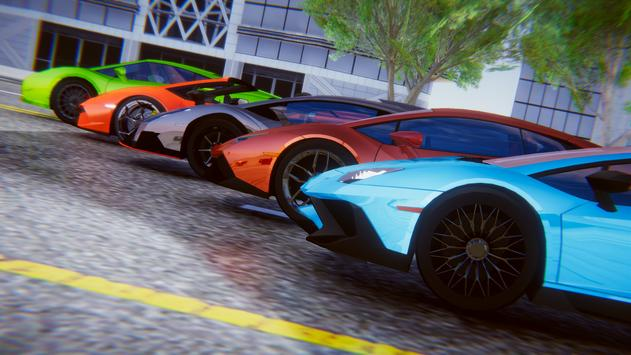 Lamborghini Car Racing Simulator City screenshot 5