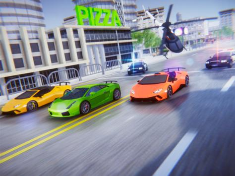 Lamborghini Car Racing Simulator City screenshot 6