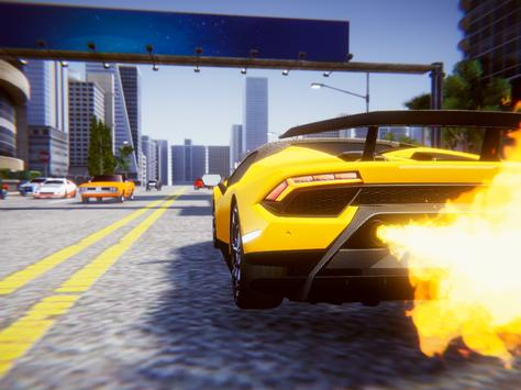 Lamborghini Car Racing Simulator City screenshot 8