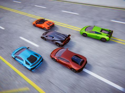 Lamborghini Car Racing Simulator City screenshot 14
