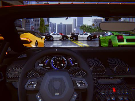 Lamborghini Car Racing Simulator City screenshot 15