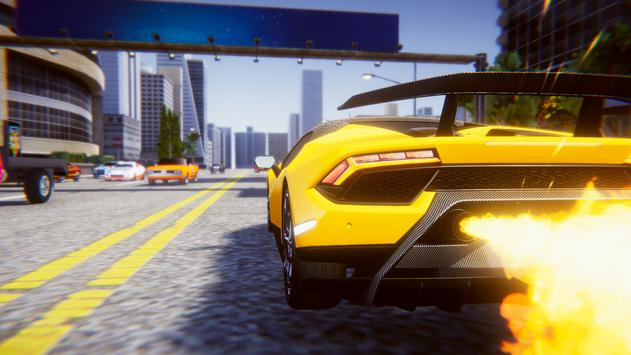 Lamborghini Car Racing Simulator City screenshot 2