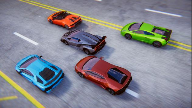 Lamborghini Car Racing Simulator City screenshot 3