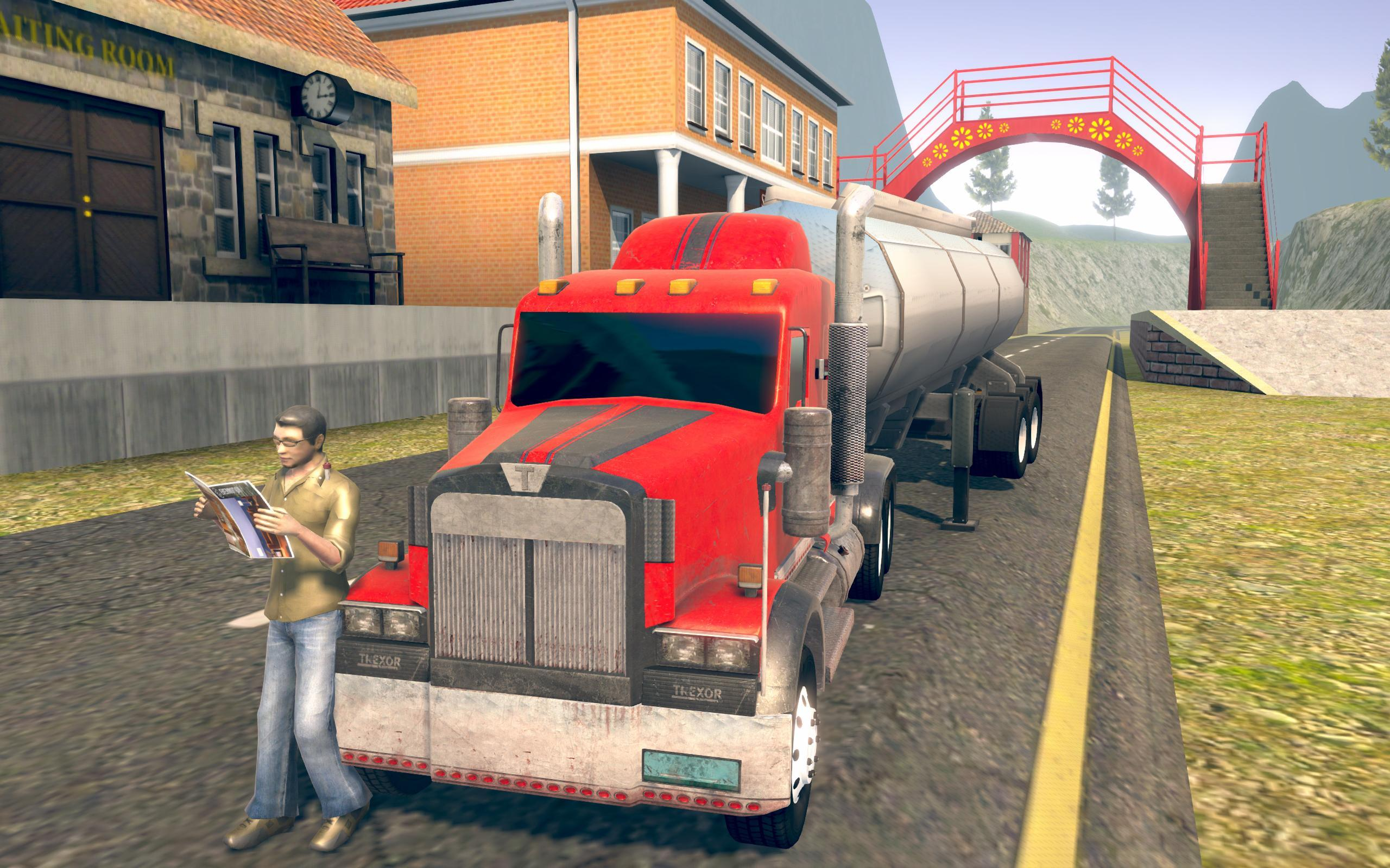 Oil Tanker Truck Driver 3D - Free Truck Games 2019 for Android - APK