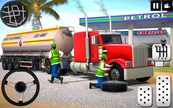 Oil Tanker Truck Driver 3D - Free Truck Games 2020 poster