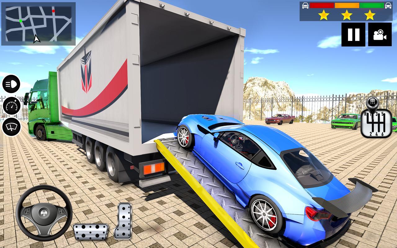 автомобильный транспортер играть