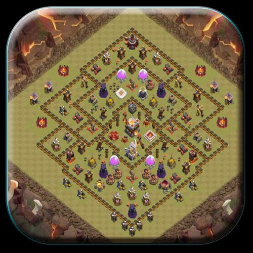 Town Hall 11 War Base Layouts For Android
