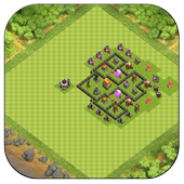 Town Hall 5 Trophy Base Maps icon