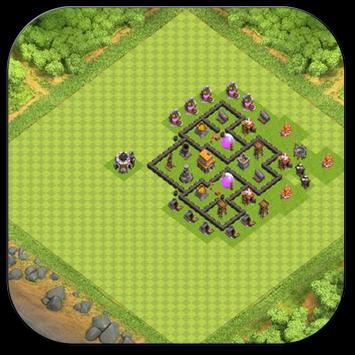 Town Hall 5 Trophy Base Maps screenshot 2
