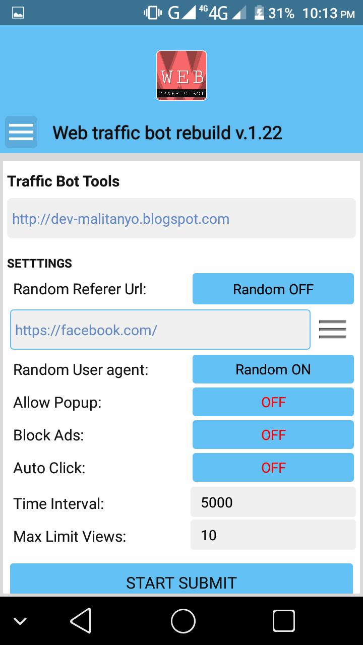 Web Traffic Bot Rebuild for Android - APK Download