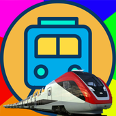 Traveling Train Airlines icon