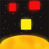 Space Dodge - Sun, Cube Game icon