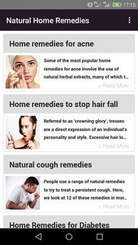Natural Home Remedies poster