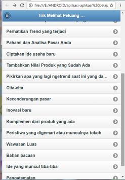 Tricks Business Opportunities screenshot 11