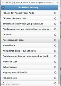 Tricks Business Opportunities screenshot 1
