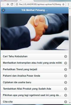 Tricks Business Opportunities screenshot 2